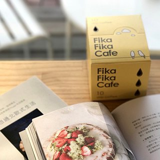 FikaFikaCafe Hanging Wrap Classic Seattle - Medium Deep Bake