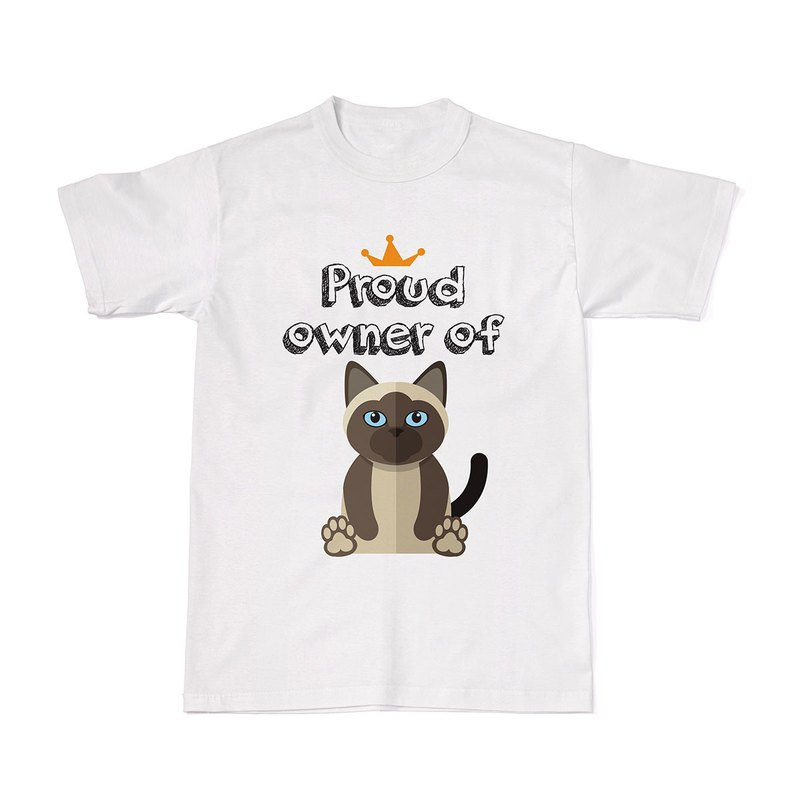 Proud Cat Owners Tees - Siamese Cat