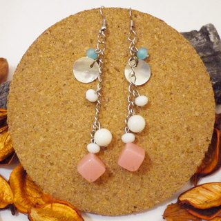 Gorgeous personality mix and match natural stone earrings