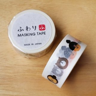 Japan Iyo and paper Fuwari Japanese fairy tales and paper tape [Momotaro (MTR47001)]