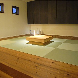 ♥ Japan and the United States grass and woven tatami MIGUSA TATAMI ♥ Series - Green tea
