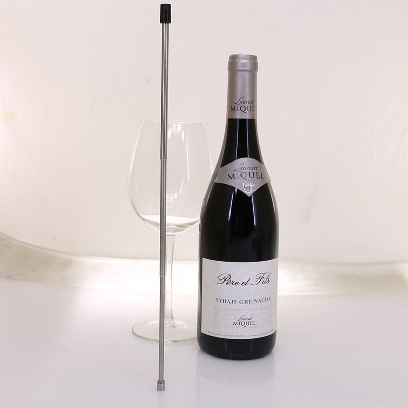 Stainless steel telescopic tube for Vinaera decanter (for generation, 1.5 generation decanter)