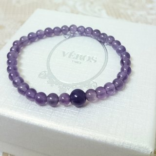 Easy to take strokes popularity Amethyst Bracelet
