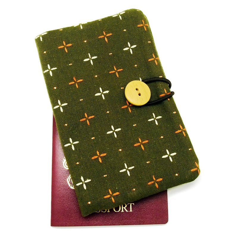 Passport sleeve, passport cover, fabric passport case, pouch (Ps3)