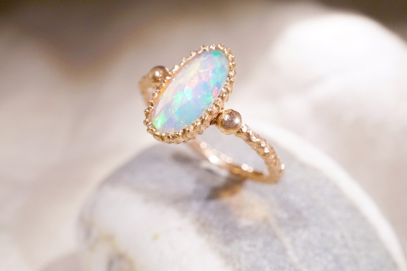 Poem of Time-Stone Ring (Opal)