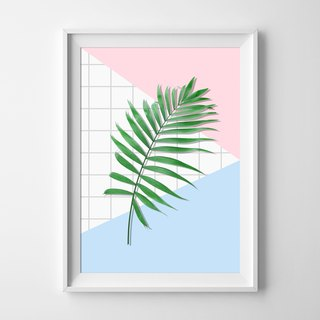 Palm leaf Customizable posters