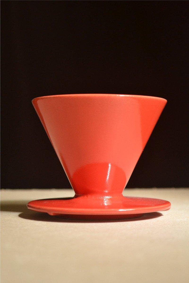 大喜紅錐形六肋01款濾杯