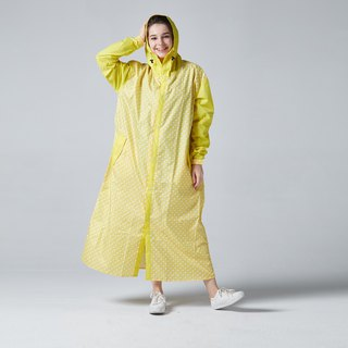 BAOGANI Backpacker Raincoat (Yellow) + Shoe Cover