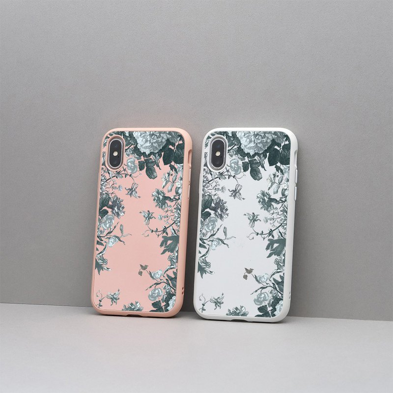 SolidSuit Classic Drop-proof Mobile Phone Case / Flower-Fei Lengcui for iPhone 11 Series
