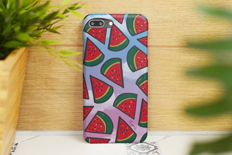 58-4 red watermelon iphone case for iphone 6,7,8, plus iphone xs, iphone xs max