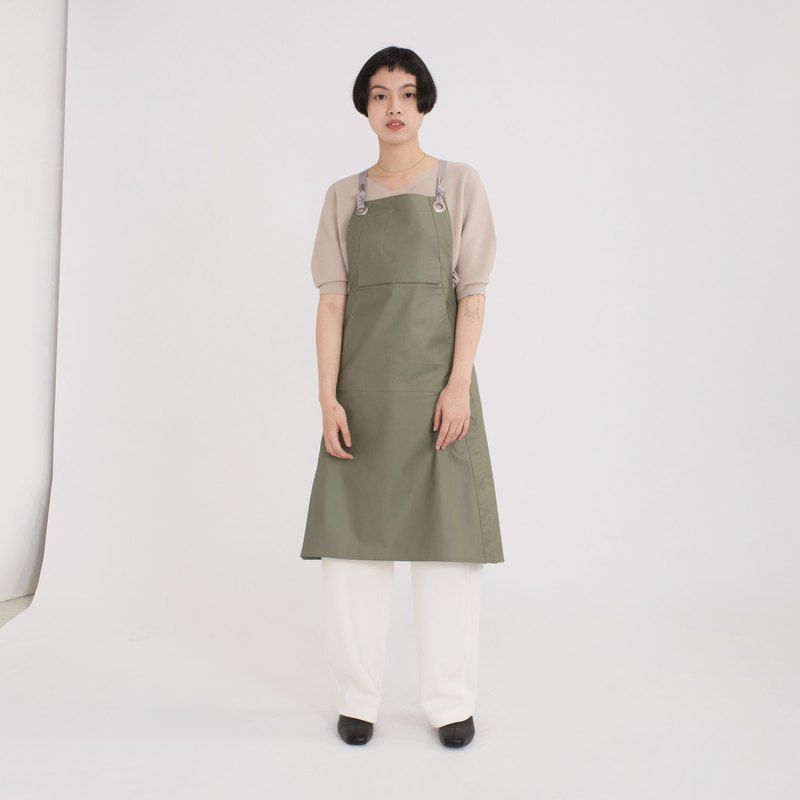 rin Urban Apron ACE-Mountain Green-Waterproof Staff Work Apron