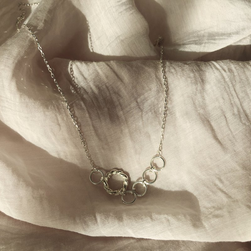 Tranquility - Sterling Silver Necklace