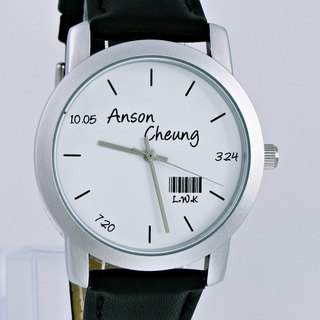 Gifts customize name watch