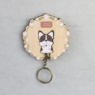 Key House French Bulldog < Customizable Storage Decoration Gift X'mas>
