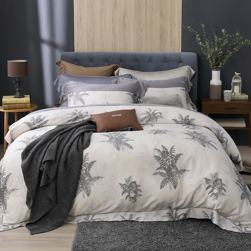 Double size - 拂晓降 temporary - Tencel dual-use bed pack four-piece group [100% lyocell Tencel]