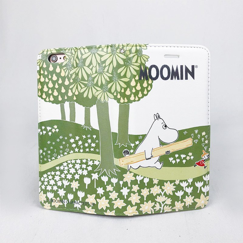 Moomin 噜噜米 authorized - magnetic mobile phone holster (white), AE27