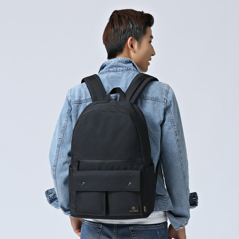 Hong Kong brand casual sports shape backpack ultra light anti-splashing Urbanist - black