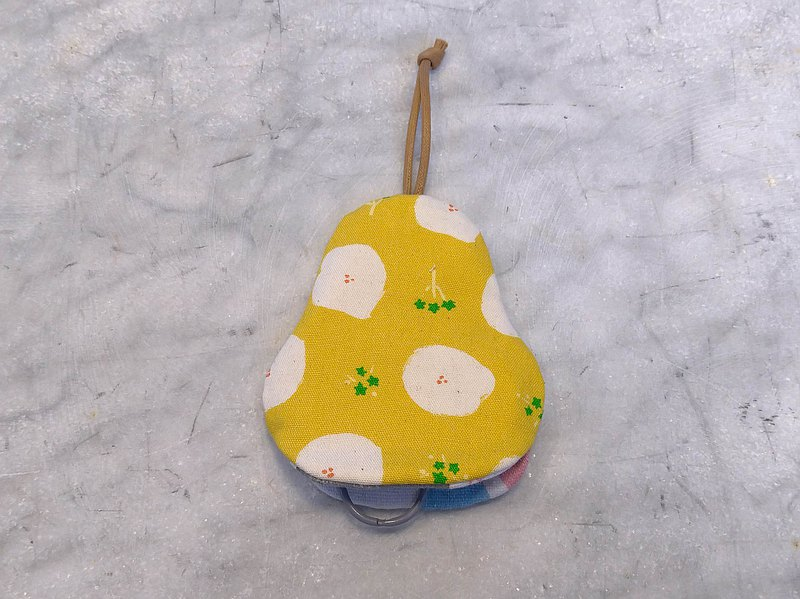 Cloud Flower (Yellow) Pear Shape Key Case【K210206】