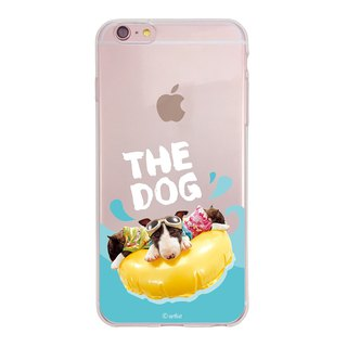 The Dog Big Dog Authorized - TPU Case, AJ14