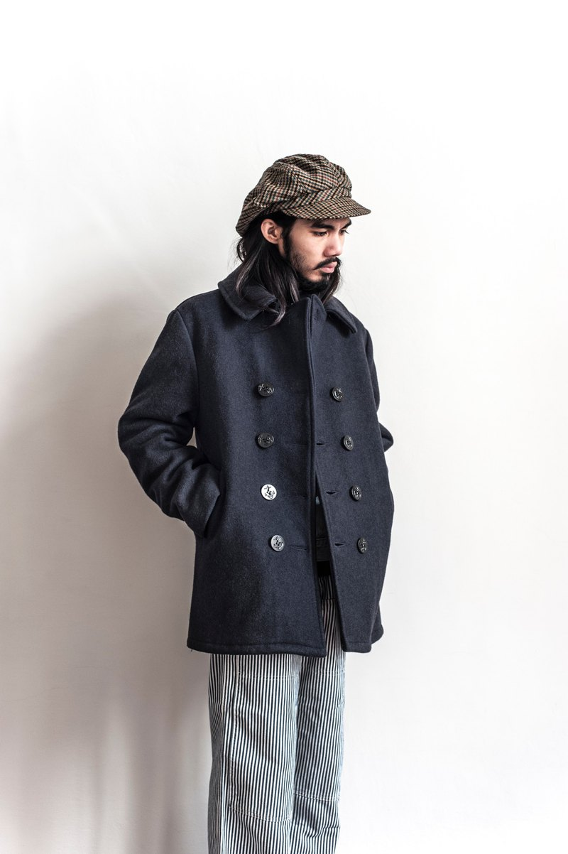 Vintage SCHOTT NYC dark blue vintage navy jacket