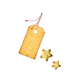 Germany Spiegelburg Christmas Star Tag Cookies