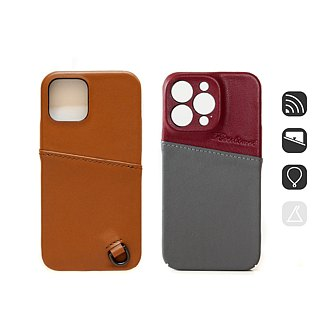 Patina Handmade Leather Case LC70 Induction Card iPhone Android Applicable