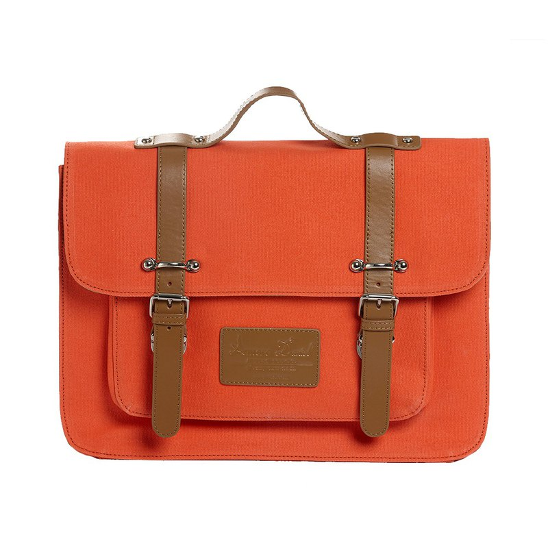 Welfare Products - Wick College Wind Hand / Crossbody / Back Backpack - Orange