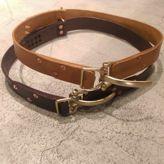 Customized belts, free lettering, embroidered words