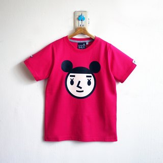 【BestFriend Kids】 Jumbo GirlFriend Logo T-Shirt / 08-PINK Kids