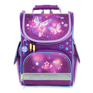 Tiger Family Aristocrat Ultra Lightweight Nursery School Bag + Stationery Bag + Pencil Box - Starry Sky Butterfly
