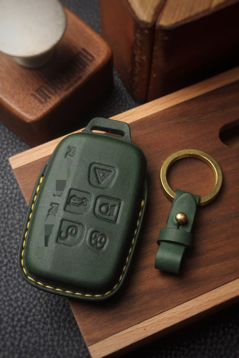 [Poseidon boutique handmade leather goods] Rangerover Land Rover car key holster manual