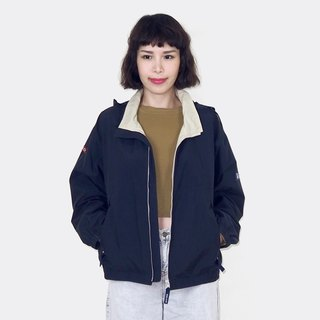 Green retro windproof vintage jacket BM3001