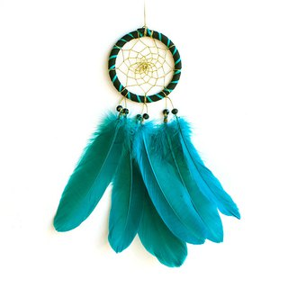 Dream Catcher 8cm - Gorgeous Lake Green (not equal to two colors) - Gift for boyfriend