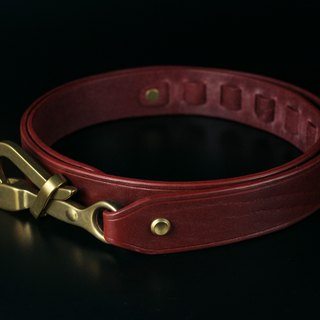 HEYOU Handmade - Sailor Belt sailor leather belt (red)
