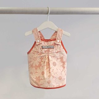 | chacha.metyou / Walking to watch the sunset small red flower dress / dog hairy child |