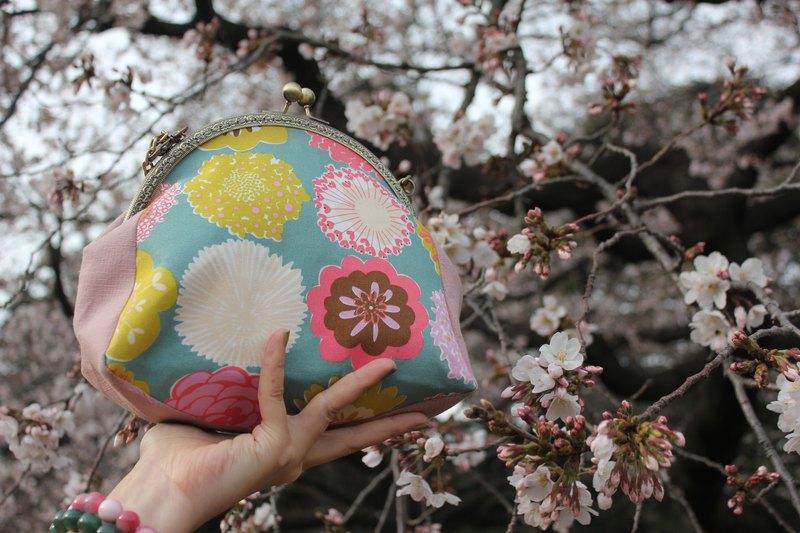 【快樂頌】口金包/側背包/手拿包/收納包