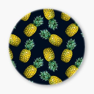 Snupped Ceramic Coaster - 陶瓷杯墊 - Pattern pineapple I