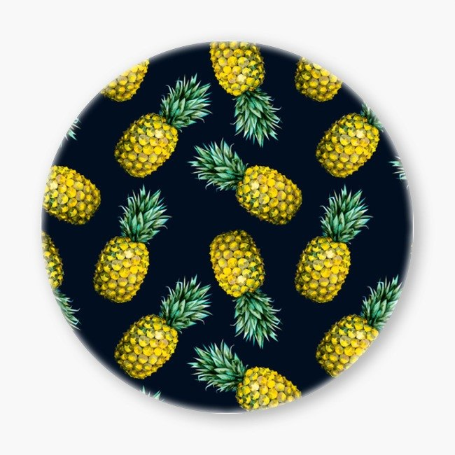 Snupped Ceramic Coaster - Pattern pineapple I