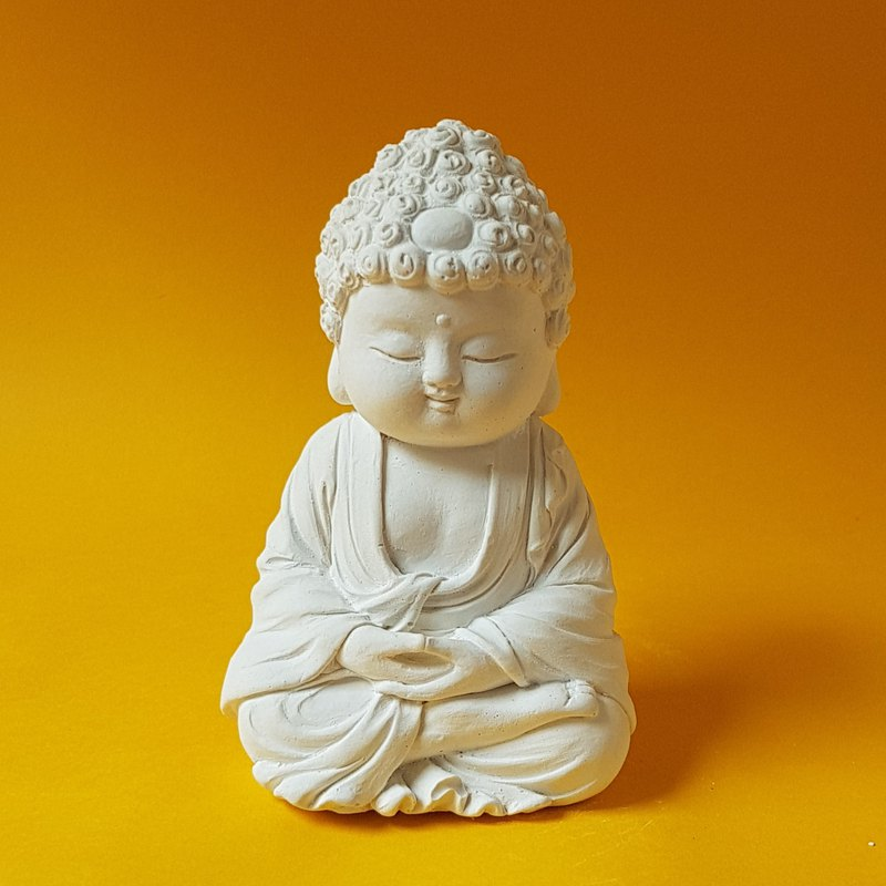 Miniature Small meditation Buddha 19041, Zen/Fairy Garden Supplies DIY Accessory