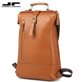 JIMMY RACING handmade British style leather backpack B179S-CL2