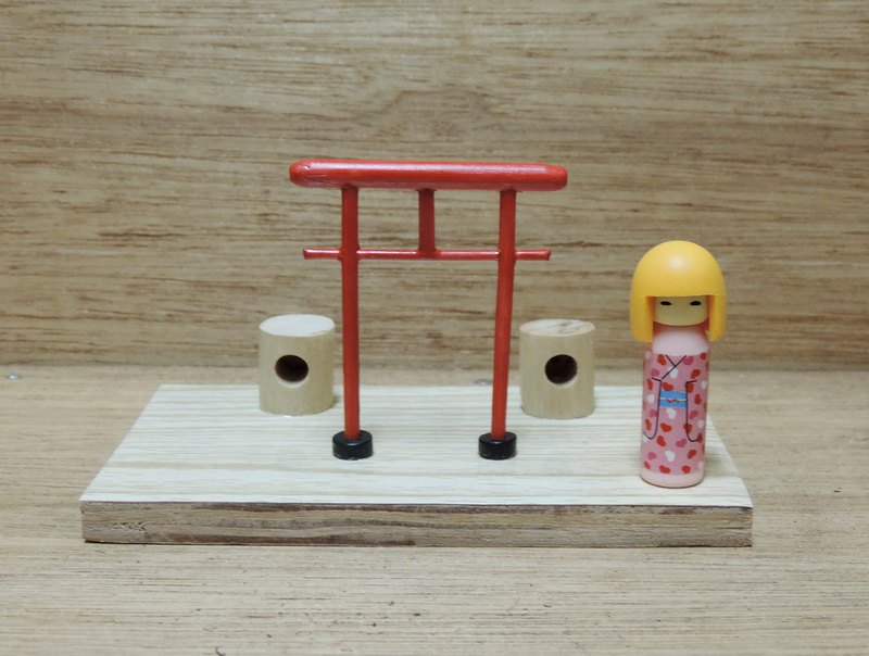 Japanese-style bird house business card holder card [limited edition]