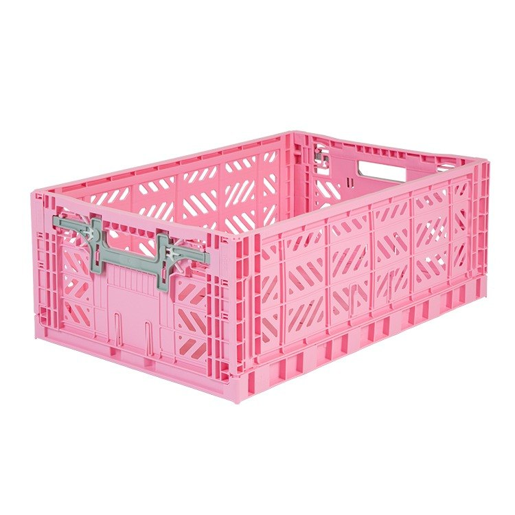 Turkey Aykasa Folding Storage Basket (L) - Barbie Powder