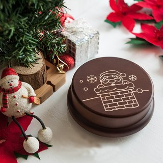 [Memorial gift, Christmas gift] Chimney and Santa Claus customization // Music box music box // christmas gift
