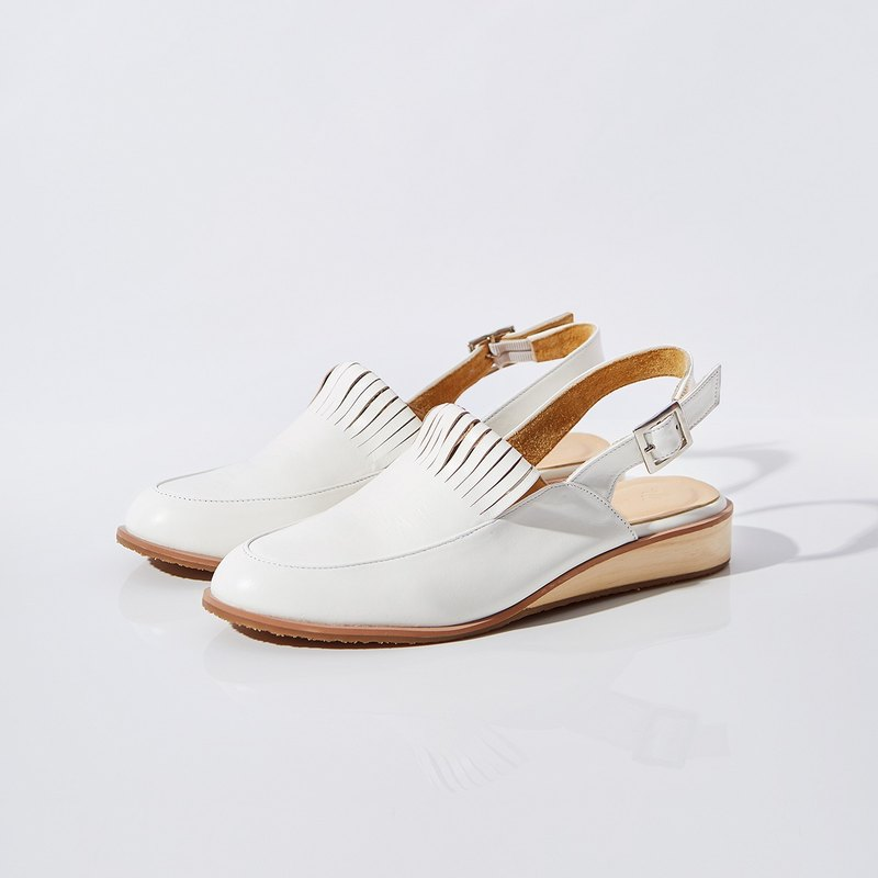 Off White-PINE Slingback Loafers