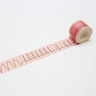 ECG drawing tape (common abnormal heart rate)