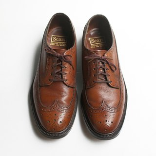 80s 美製雕花心頭好物皮鞋 Sears Wingtip Blucher US 8.5D EUR 41