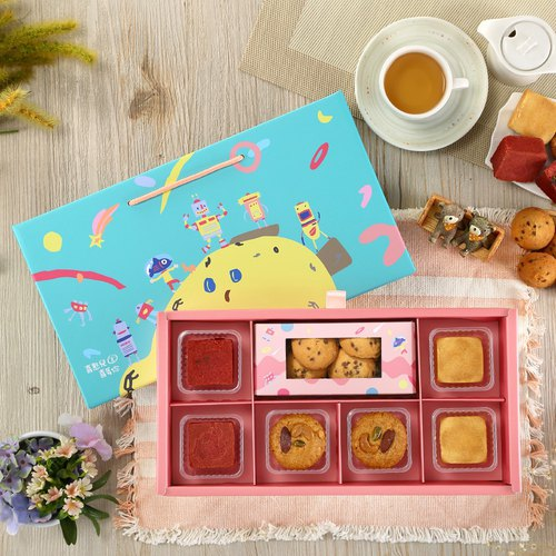 [Magpies. Mid-Autumn Festival Pre-order] Fireworks show-D1 (6 gift box / biscuit / moon cake)