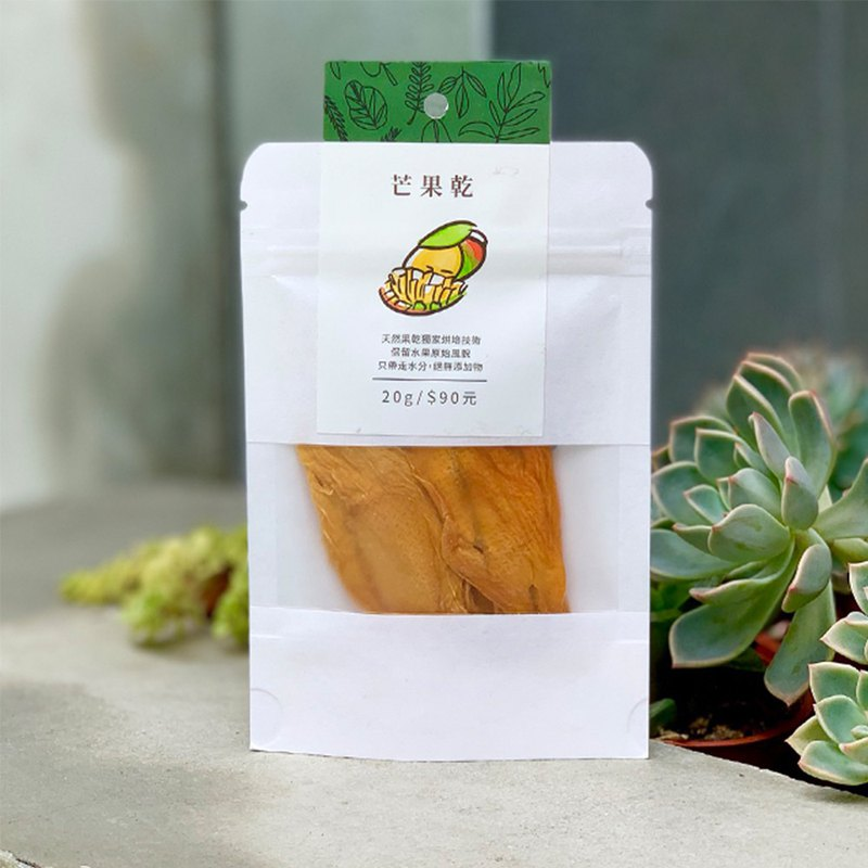 Sure enough │ exclusive baking technology no additives │ dried mango 20g