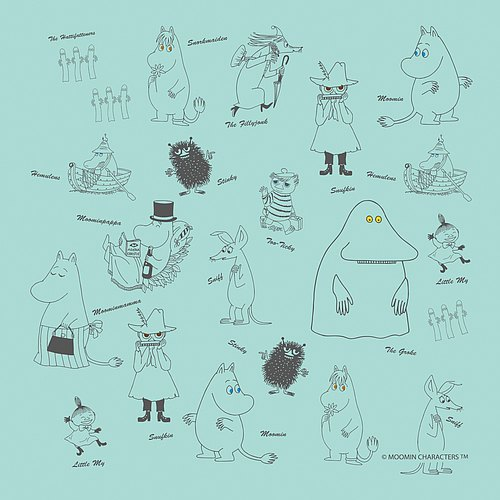 Moomin Moomin authorization - towels: [Moomin Wizard]