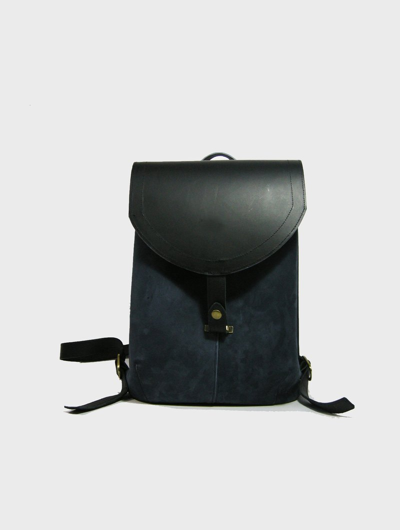 Grinding vintage leather backpack (cowhide, cow baggo)_zuo zuo handmade leather bag